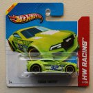 Hot Wheels 2013 HW Racing Torque Twister (green) (PR5 Wheel Variation)