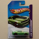 Hot Wheels 2013 HW Showroom 2013 Hot Wheels Chevy Camaro (green)