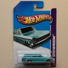 Hot Wheels 2013 HW Showroom '64 Chevy Nova Station Wagon (turquoise)
