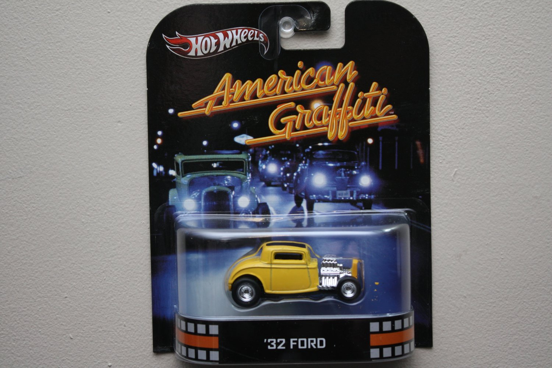 Hot Wheels 2013 Retro Entertainment American Graffiti '32 Ford