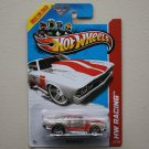 Hot Wheels 2013 HW Racing '69 Chevelle (clear / glow in the dark) (no roll cage variation)