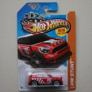 Hot Wheels 2013 HW Stunt '12 Mini Countryman Rally (red)