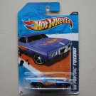 Hot Wheels 2011 HW Racing '69 Pontiac Firebird (blue)