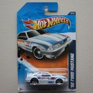 Hot Wheels 2011 HW Racing '92 Ford Mustang (white)