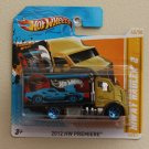 Hot Wheels 2012 HW Premiere Hiway Hauler 2 (gold/black)