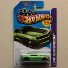 Hot Wheels 2013 HW Showroom 2013 Hot Wheels Chevy Camaro Special Edition (green)