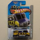 Hot Wheels 2013 HW City Combat Medic (blue)
