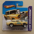 Hot Wheels 2013 HW Showroom &#39;55 Chevy Bel Air Gasser (gold)
