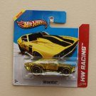Hot Wheels 2013 HW Racing &#39;69 Chevelle (yellow)