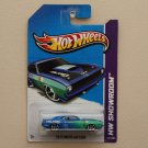 Hot Wheels 2013 HW Showroom &#39;70 Plymouth AAR Cuda (blue)
