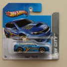 Hot Wheels 2013 HW City Subaru WRX STI (blue) (MC5 Wheel Variation)