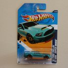 Hot Wheels 2012 Faster Than Ever &#39;10 Ford Shelby GT-500 Super Snake (teal)