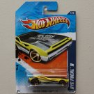 Hot Wheels 2011 Faster Than Ever Bye Focal II (yellow)