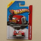 Hot Wheels 2013 HW Racing Bump Around (red)