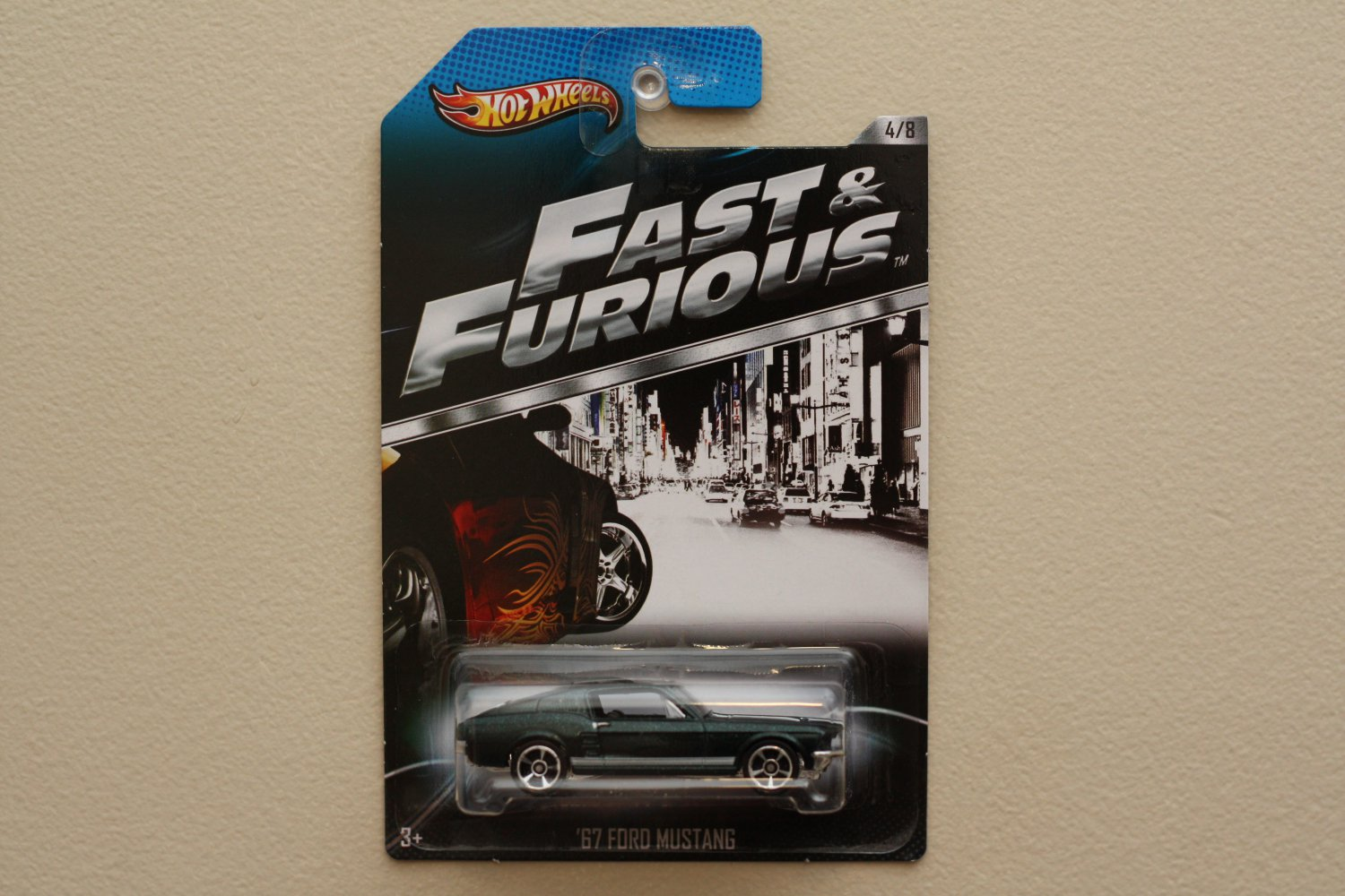 Hot Wheels 2013 Fast & Furious '67 Ford Mustang
