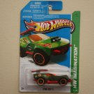 Hot Wheels 2013 HW Imagination Sting Rod II (green) Treasure Hunt