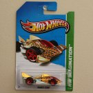 Hot Wheels 2013 HW Imagination Hammer Down (gold)