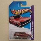 Hot Wheels 2013 HW Showroom '64 Chevy Nova Station Wagon (red)