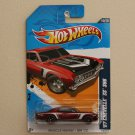 Hot Wheels 2012 Muscle Mania GM '67 Chevelle SS 396 (spectraflame red) Super Treasure Hunt