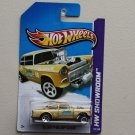 Hot Wheels 2013 HW Showroom '55 Chevy Bel Air Gasser (gold)