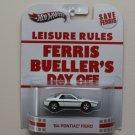 Hot Wheels 2013 Retro Entertainment Ferris Bueller's Day Off '84 Pontiac Fiero