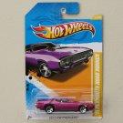 Hot Wheels 2012 HW Premiere '71 Plymouth Road Runner (purple)