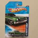Hot Wheels 2011 Muscle Mania '70 Monte Carlo (green)