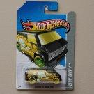 Hot Wheels 2013 HW City Custom '77 Dodge Van (black) Treasure Hunt