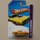 Hot Wheels 2013 HW Showroom '71 Dodge Challenger (yellow)