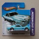 Hot Wheels 2013 HW Showroom '65 Mustang 2+2 Fastback (turquoise)