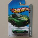 Hot Wheels 2013 HW City Lotus Evora GT4 (green)