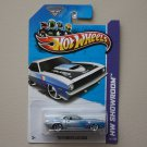 Hot Wheels 2013 HW Showroom '70 Plymouth AAR Cuda (silver)