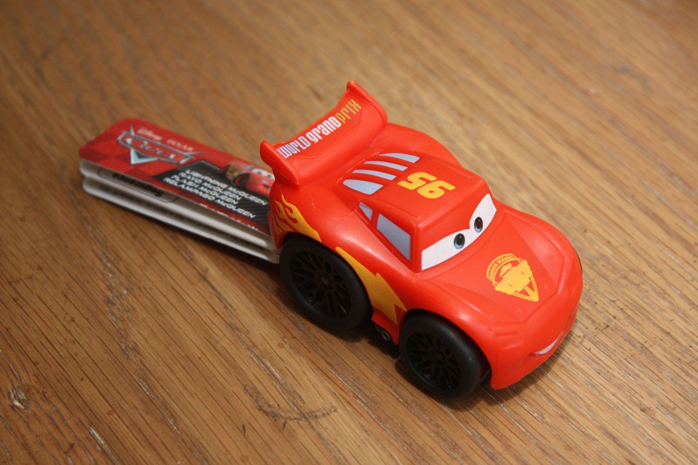 Fisher Price Little People Wheelies Disney Pixar Cars Lightning McQueen