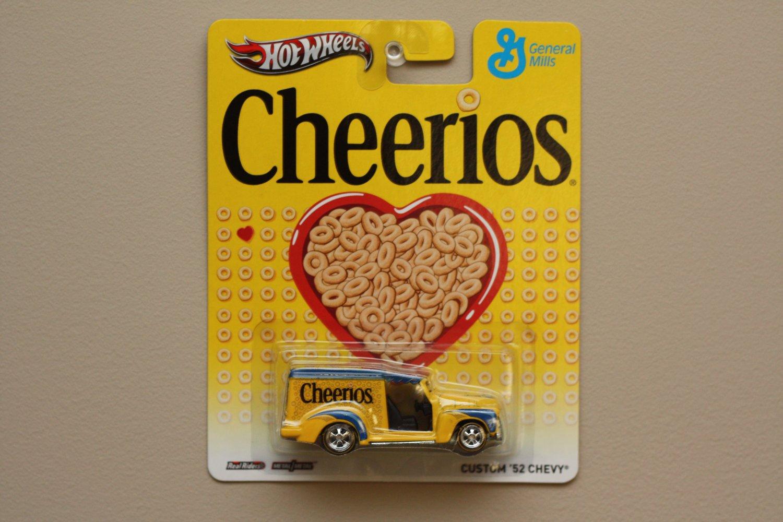 Hot Wheels 2013 Pop Culture General Mills Cheerios Custom '52 Chevy