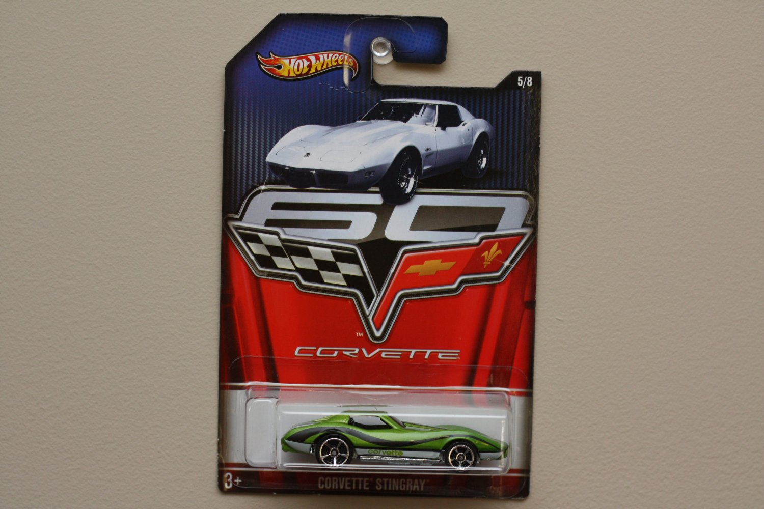 Hot Wheels 2013 Corvette 60th Anniversary Corvette Stingray