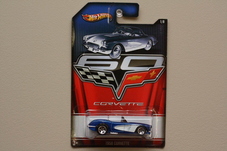Hot Wheels 2013 Corvette 60th Anniversary 1958 Corvette