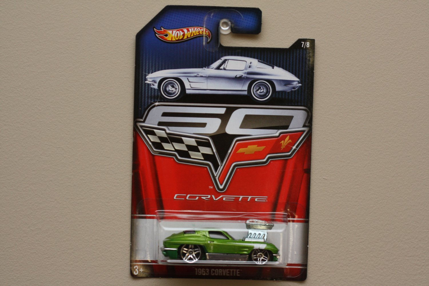 Hot Wheels 2013 Corvette 60th Anniversary 1963 Corvette (Tooned)