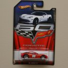 Hot Wheels 2013 Corvette 60th Anniversary C6 Corvette