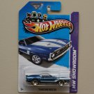 Hot Wheels 2013 HW Showroom '71 Mustang Boss 351 (blue)