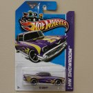 Hot Wheels 2013 HW Showroom '57 Chevy (purple)