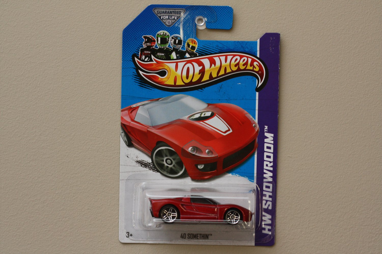 Hot Wheels 2013 HW Showroom 40 Somethin' (red) (KROGER SCAVENGER HUNT)