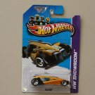 Hot Wheels 2013 HW Showroom Vulture (yellow) (KROGER SCAVENGER HUNT)