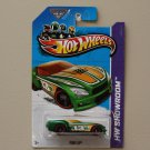 Hot Wheels 2013 HW Showroom Pony-Up (green) (KROGER SCAVENGER HUNT)