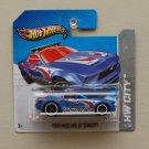 Hot Wheels 2013 HW City Ford Mustang GT Concept (blue) Treasure Hunt