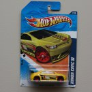 Hot Wheels 2011 Nightburnerz Honda Civic Si (yellow)