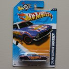 Hot Wheels 2012 HW Racing '71 Maverick Grabber (spectraflame blue) (Super Treasure Hunt)