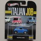Hot Wheels 2013 Retro Entertainment The Italian Job Morris Mini (blue)