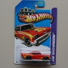 Hot Wheels 2013 HW Showroom '57 Chevy (red)