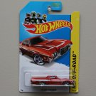 Hot Wheels 2014 HW Off-Road '72 Ford Ranchero (burgundy)