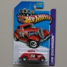Hot Wheels 2013 HW Showroom '34 Ford 3-Window (red - Kmart Excl.)
